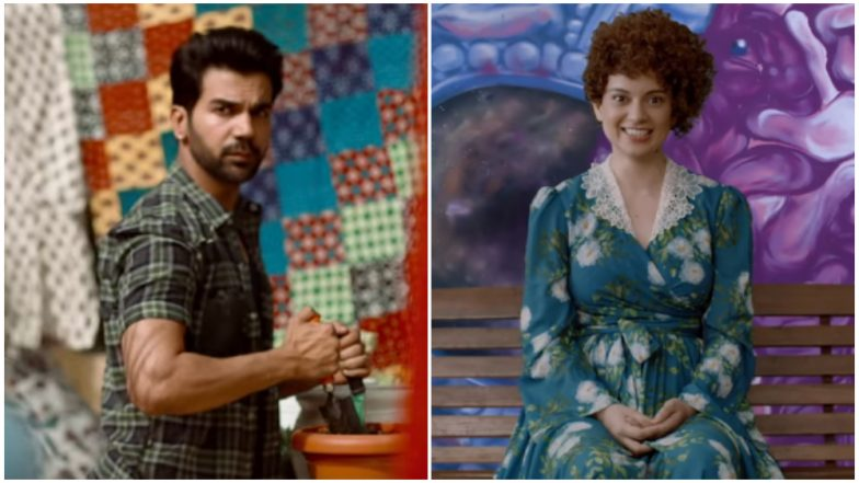 Judgementall Hai Kya New Promos: 'Normal' Rajkummar Rao and 'Stalker' Kangana Ranaut Will Get You Excited for the Film – Watch Videos