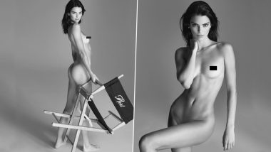 Kendall Jenner Goes Completely Naked for an NSFW Photoshoot Making Our Weekend More Fun! Check Instagram Pic
