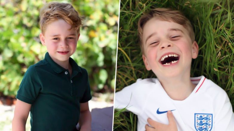 Prince George Celebrates His 6th Birthday: Kensington Palace Shares Adorable New Pictures of His Royal Highness Clicked by Duchess of Cambridge Kate Middleton