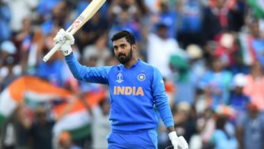 KL Rahul Scores Fourth ODI Hundred During India vs New Zealand 3rd One-Day at Bay Oval