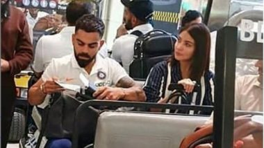 Anushka Sharma Spotted With Virat Kohli At Miami Airport As Team India Reach US for T20Is Against West Indies, See Photo