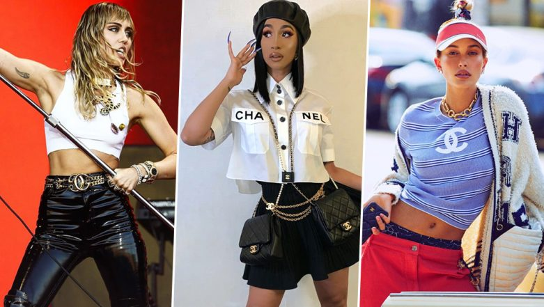 How to Rock the Logomania Trend Like a Celeb With Fashion Inspirations From Kylie Jenner and Cardi B