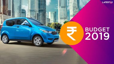 Electric Vehicles To Become Cheaper After Budget 2019: Electric Cars You Can Buy To Avail Income Tax Rebate in India