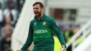 Shoaib Malik Becomes Third Player to Play Across Four Decades in International Cricket, Joins Sachin Tendulkar and Sanath Jayasuriya