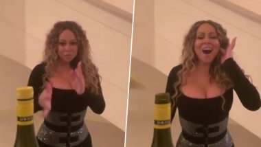 Mariah Carey Nails Bottle Cap Challenge Using Her Best Asset and You Can't Imagine What! (Watch Viral Video)