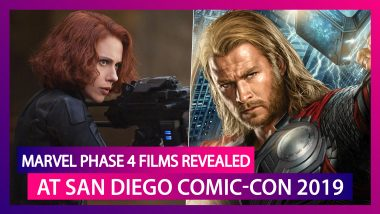 Marvel Phase 4 Films Revealed at San Diego Comic-Con 2019: Complete List of Films and TV Series