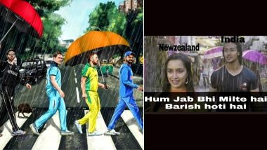 CWC 2019: Rains Stop India vs New Zealand Semi-Final Game, Fans Storm Twitter With Funny Memes