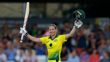 Meg Lanning Records Highest Score in a Women's T20I, Achieves Feat During England vs Australia First Women's Ashes T20 Match