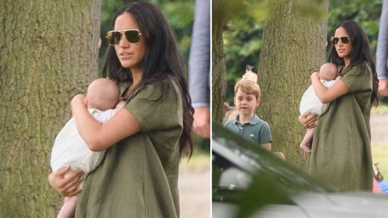 Meghan Markle Mom-Shamed on Instagram! Netizens Troll the Duchess of Sussex for 'Awkwardly' Holding Baby Archie (View Pic)