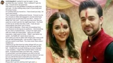 Mohit Abrol Accuses Ex-fiancee Mansi Srivastava of Cheating, Confesses He Tried to Commit Suicide (Read Post)