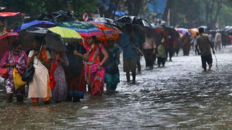 Mumbai Rains: Heavy Rainfall to Lash City on September 8 and 9, IMD Issues Alert
