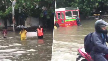 Mumbai Rains News Updates, Traffic And Local Train Status Today, July 2, 2019: Record Downpour Brings City to Standstill, Very Heavy Rain Forecast Between July 3-5