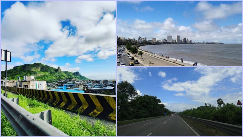 Mumbai Skies Are Unusually Blue Today and the Internet Is Mesmerised (View Pics of Beautiful Skyline)