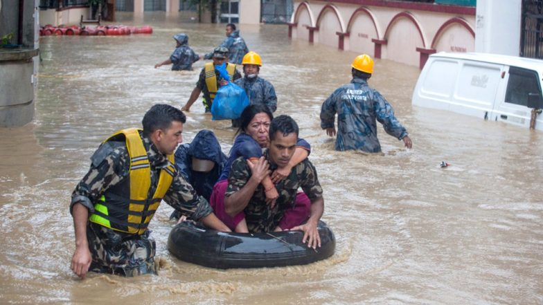 Nepal Floods: Death Toll Jumps to 65, More Than 1000 Rescued So Far From 22 Flood-Hit Districts
