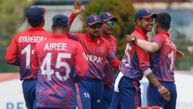 Live Cricket Streaming of Nepal vs Singapore ICC World T20 Asia Qualifier 2019: Check Live Cricket Score, Watch Free Telecast of NEP vs SIN 10th T20I on TV and Online