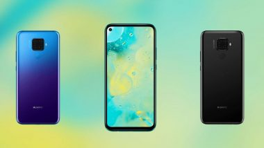 Huawei Nova 5i Pro Smartphone With  Kirin 810 SoC & Quad Rear Cameras Launched: Prices, Features & Specifications