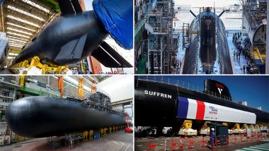 France: President Emmanuel Macron Launches New Nuclear-Powered Attack Submarine