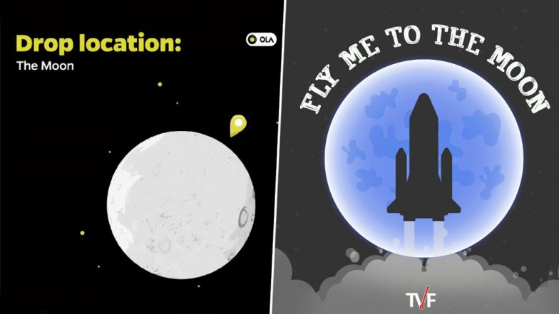 Chandrayaan 2 Launch: Here's What Ola Cabs, ICICI Bank, Google India, Spice Jet Have to Say On ISRO's Milestone Mission to Moon