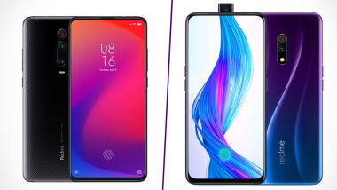 Xiaomi Redmi K20 vs Realme X: India Prices, Features, Variants, Colours and Specifications: Comparison