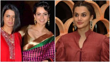 Taapsee Pannu Takes a Dig at Rangoli Chandel and Kangana Ranaut, Says She Can't Match Their Language