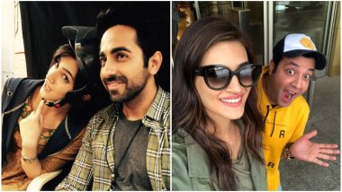 Kriti Sanon Turns a Year Older! Ayushmann Khurrana and Varun Sharma Wish Arjun Patiala Actress on Her 29th Birthday