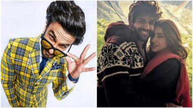 Ranveer Singh Leaves 'So Cute' Response on Sara Ali Khan and Kartik Aaryan's Pic!