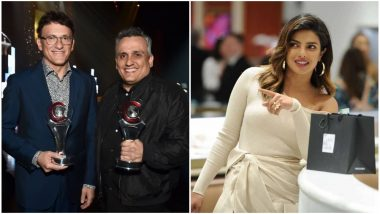 Avengers: EndGame Directors Russo Brothers to Reveal Their Project With Priyanka Chopra at San Diego Comic-Con 2019?