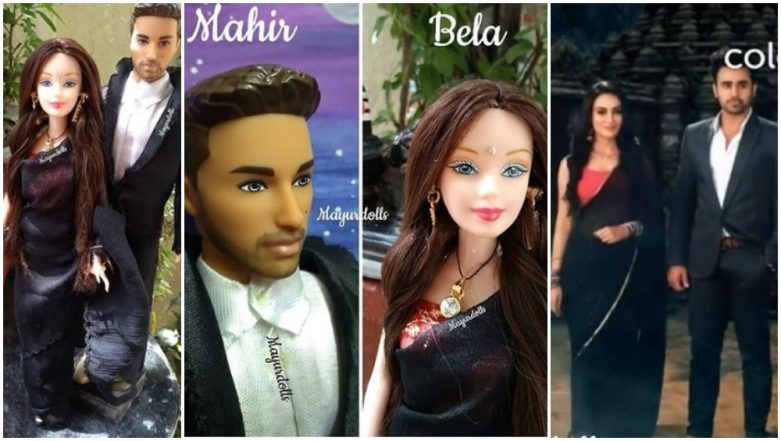 After Parth, Hina, Erica, Naagin 3 Duo Pearl V Puri and Surbhi Jyoti Have Miniature Dolls Fashioned on Their On-Screen Characters – View Viral Pics