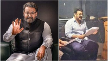 Kaappaan: Mohanlal Begins Dubbing in Tamil for His Role in This Suriya Starrer (View Pic)