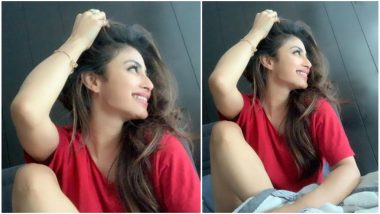 Mouni Roy Gives Lazy Sunday Vibes With Her No-Makeup Look (View Pic)