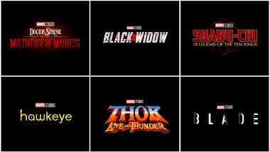 Marvel Phase 4 Films Revealed at San Diego Comic-Con 2019! From Black Widow to Thor 4, Here's the Complete List of Films and TV Series