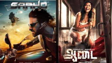 From Prabhas' Saaho Getting Postponed to Shows of Amala Paul's Aadai Getting Cancelled – Here Are the Top Eight Newsmakers in South!