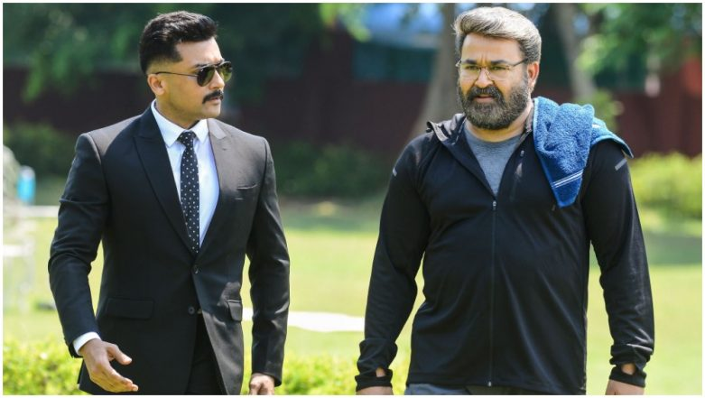 Kaappaan New Stills: These Pics Featuring Suriya, Mohanlal and Others Are a Must See!