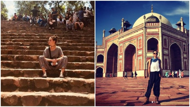 Ant-Man and the Wasp Actress Evangeline Lilly is in India and her Pictures from Delhi are So Damn Good