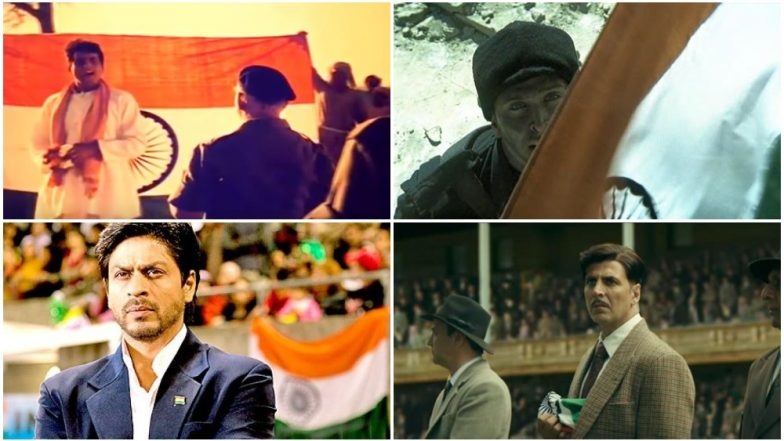 National Flag Adoption Day: From Manoj Kumar's Upkar to Akshay Kumar's Gold, 7 Iconic Scenes in Bollywood Cinema Involving the Indian Tricolour