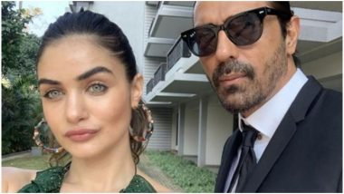 This Pic of Arjun Rampal's Girlfriend Gabriella Demetriades Holding Their Son in Her Arms Is Something You Would Love to See