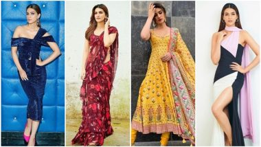 Kriti Sanon's Style File for Arjun Patiala Promotions Gained Momentum With Each Passing Day - View Pics