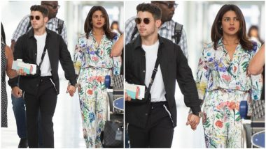 Priyanka Chopra's Floral Separates Are Perfect for Your Sunday Brunch Outings - View Pics