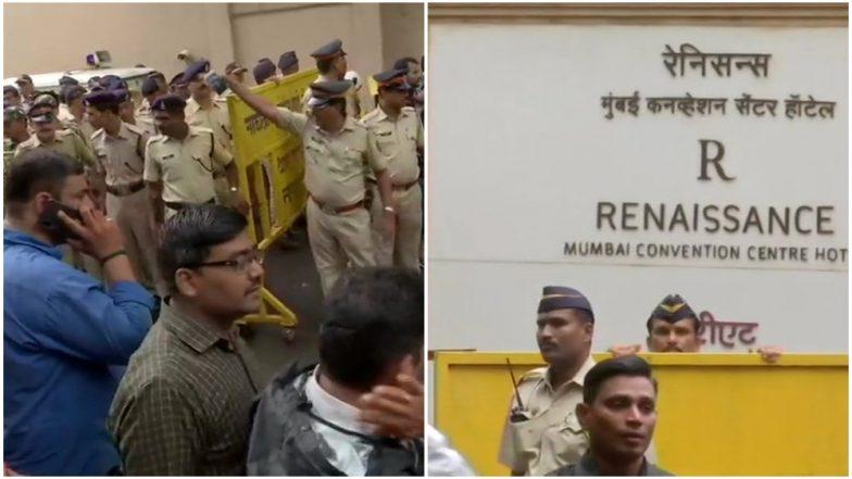 Karnataka Political Crisis: Mumbai Police Stops DK Shivakumar From Entering Mumbai Hotel After Rebel MLAs Allege Threat