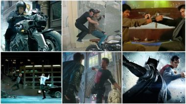 WAR Teaser: From Dhoom 3 to Batman V Superman, 6 Movies Hrithik Roshan and Tiger Shroff's Action Thriller Reminded Us Of!