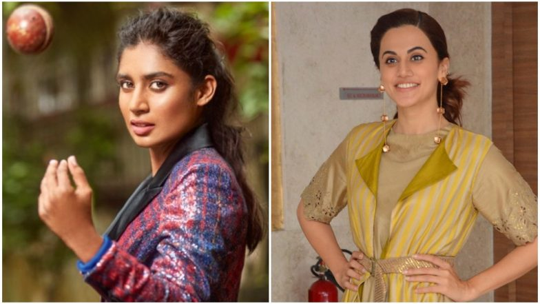 Did Taapsee Pannu Just Confirm Doing Mithali Raj's Biopic?