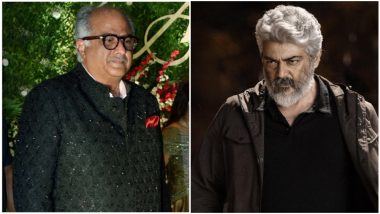 #AK60 CONFIRMED! Nerkonda Paarvai Producer Boney Kapoor to Team Up With Thala Ajith and H Vinoth Once Again