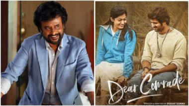 From Rajinikanth's Look in Darbar to Dear Comrade Getting Hindi Remake – Here Are the Top 6 Newsmakers in South!