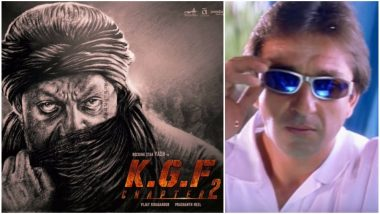 Sanjay Dutt As Adheera in KGF Chapter 2: Did You Know This Is Not Khalnayak Star's First South Film? Watch VIdeo