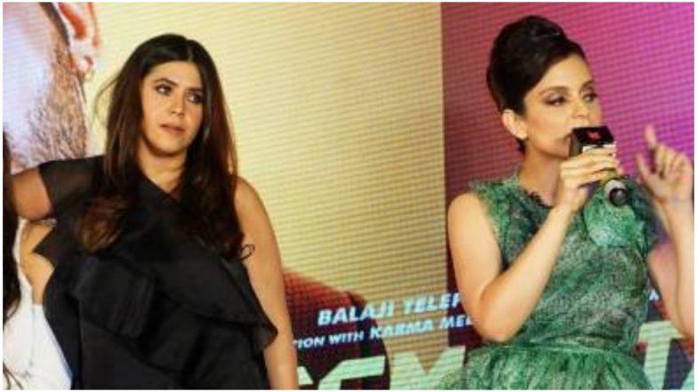 Ekta Kapoor's Apology Note for the Kangana Ranaut Spat Drops the Actress' Name but Not the Journo's!