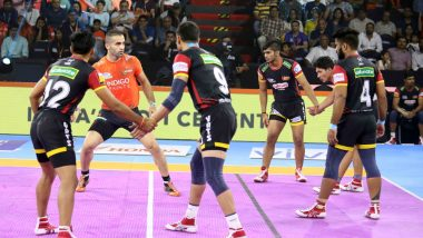 PKL 2019 Match Results: Bengaluru Bulls Overpower U Mumba in Close Contest, Emerge Winners by 30-26