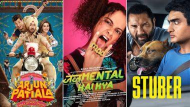 Movies This Week: Diljit Dosanjh's Arjun Patiala, Rajkummar Rao's Judgementall Hai Kya and Dave Bautista's Stuber