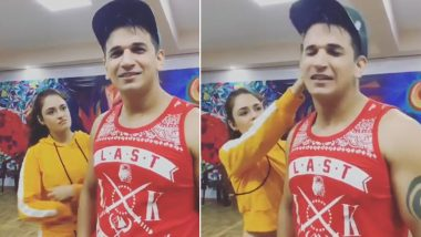 Nach Baliye 9: Yuvika Chaudhary Slaps Husband Prince Narula on the Sets of Salman Khan's Dance Show – Watch Video