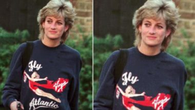 Princess Diana's Used Workout Sweatshirt Sells at Rs 3.5 Million at an Auction, View Pic