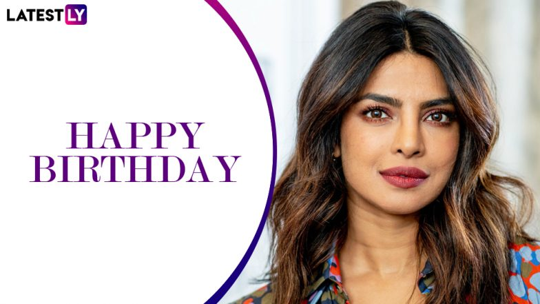 Happy Birthday Priyanka Chopra: Here's Looking at the Desi Girl's Journey from Bollywood to Becoming a Global Icon